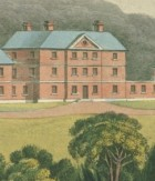 View of the Female Orphan School, Near Parramatta, image by Joseph Lycett, 1825, image courtesy of SLV