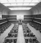 The Reading Room, Public Library of NSW, 1942, image by Sam Hood, image courtesy SLNSW