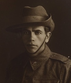 NSW servicemen portraits, 1918-19 - Alfred Duroux, image courtesy State Library of NSW