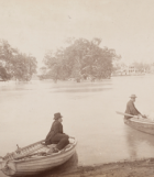 Views of scenery on the Darling and lower Murray during the flood of 1886 / New South Wales Royal Commission, Conservation of Water, image by C. Bayliss, image courtesy of SLNSW