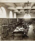 Mitchell Library Reading Room, c. 1911-1912, image courtesy of the SLNSW