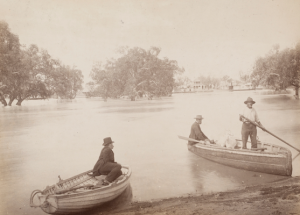 Darling and lower Murray during the flood of 1886, Image courtesy State Library of NSW