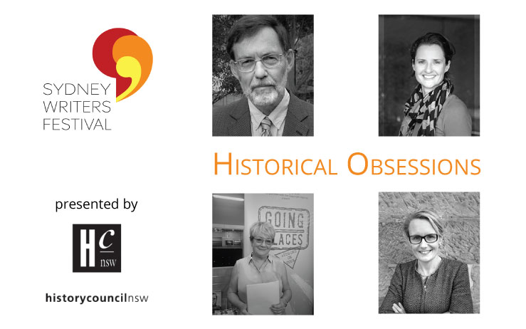 Historical Obsessions – Sydney Writers' Festival