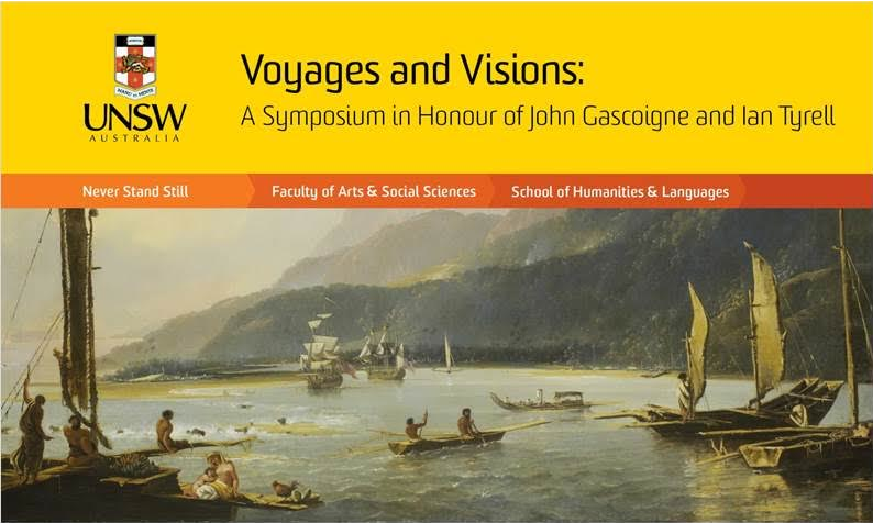 Voyages and Visions: Tom Griffiths to deliver keynote