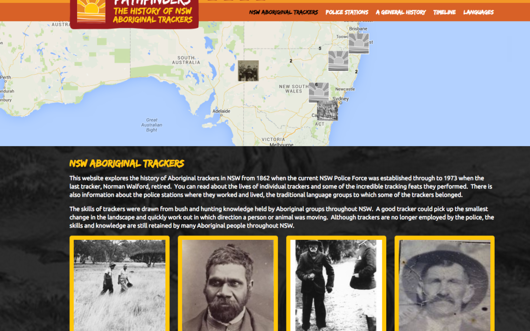 Aboriginal trackers in New South Wales