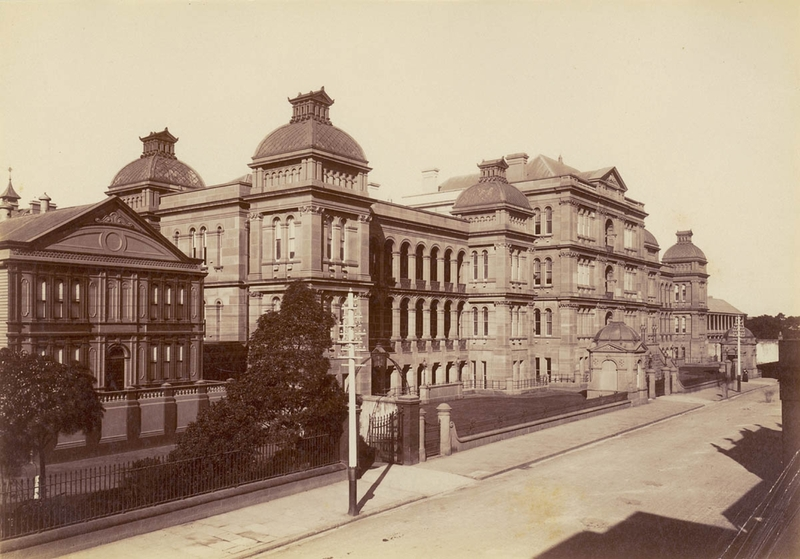 Before Neighbours: Sydney Hospital, the first building on Macquarie Street