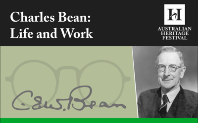 Charles Bean: Life and Work
