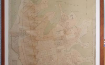 Unveiling of restored 1890 map of Concord
