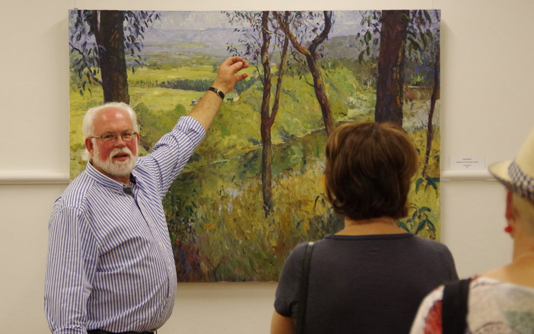 Plein air, place and passion: artist Greg Hansell