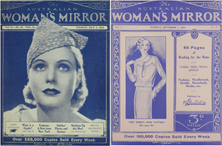 The Mirror's Writing Women