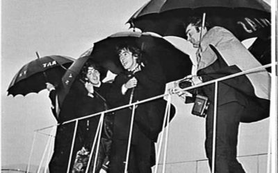 When the Beatles Landed at Mascot
