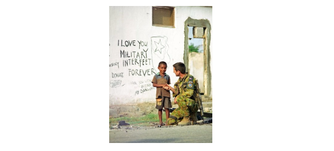Interrupting a hybrid war: new perspectives on Australia's military involvement in East Timor in 1999