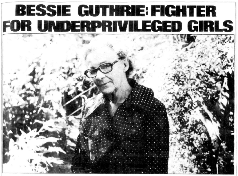 Activist Commemorations: Remembering the Life of Bessie Guthrie