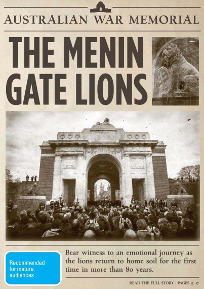 The Menin Gate Lions film screening