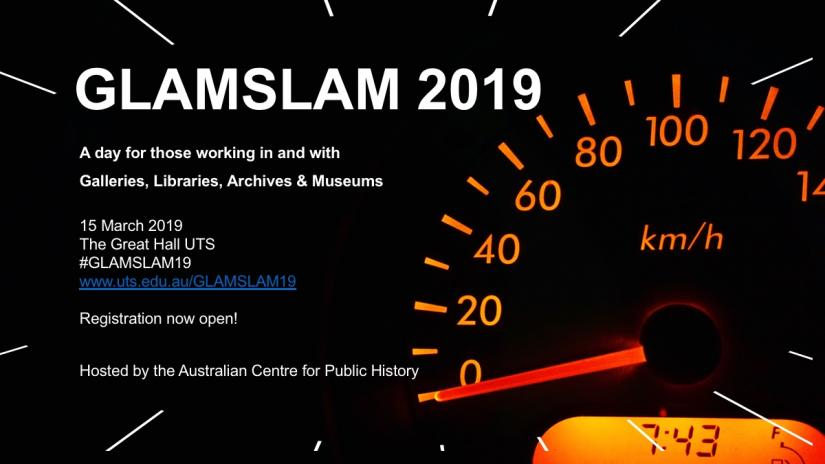 GLAMSLAM 2019 Program Announced!