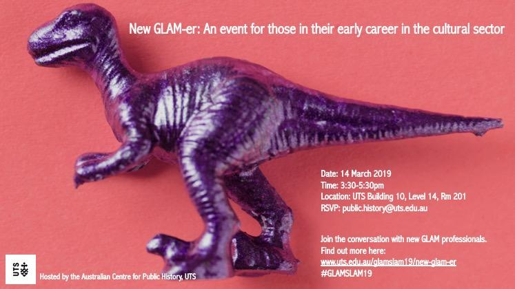 Professional Development: New GLAM-er Networking event for Early Career Cultural Sector Workers