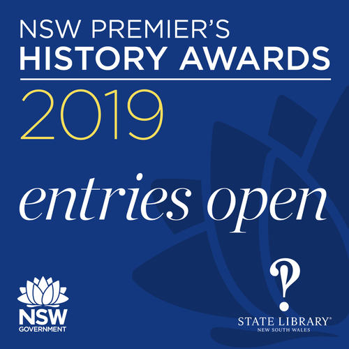 NSW Premier's History Awards 2019 Now Open