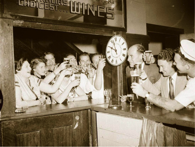 Talk: Dr Roy Lumby presents Pubs of the Middle Third 1939-1960s