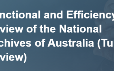 Submission – HCA submission to Tune Review of National Archives of Australia